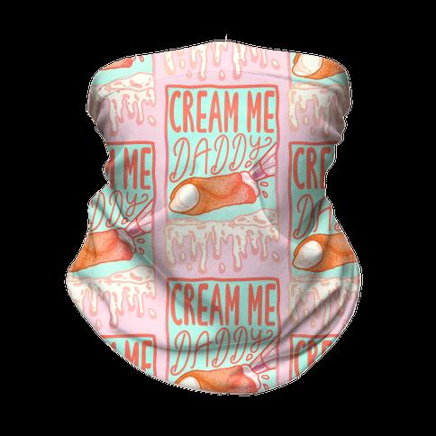 Cream Me Daddy Cannoli Neck Gaiter