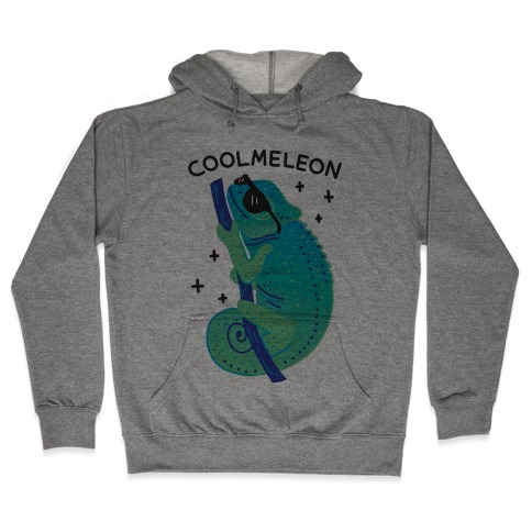 Coolmeleon Chameleon Hooded Sweatshirt