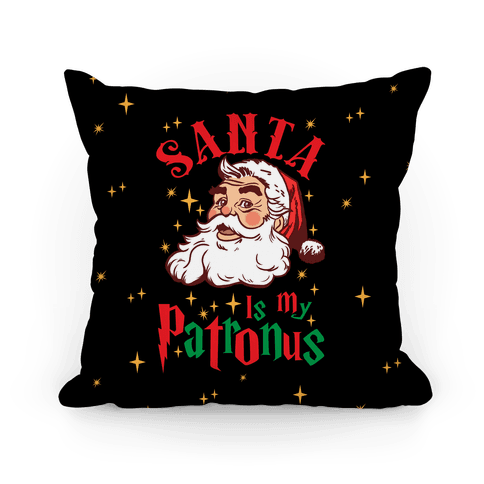 Santa Is My Patronus Pillow