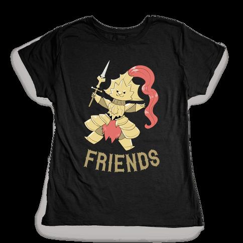 Best Friends Ornstein Womens T-Shirt