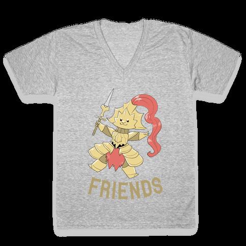 Best Friends Ornstein V-Neck Tee Shirt