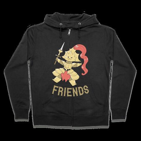 Best Friends Ornstein Zip Hoodie