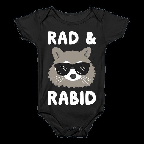 Rad & Rabid Baby Onesy