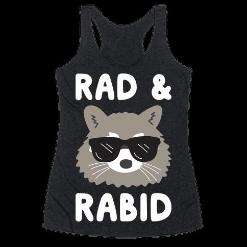 Rad & Rabid Racerback Tank Top