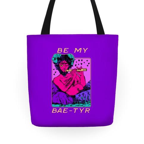 Be My Bae-tyr Valentine Satyr Tote