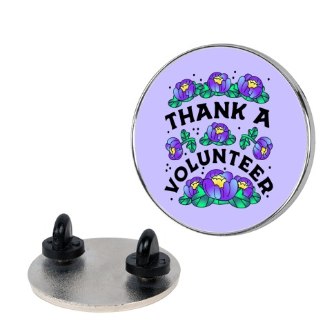 Thank a Volunteer Pin