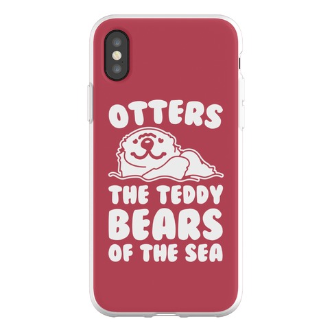 Otters The Teddy Bears of The Sea Phone Flexi-Case