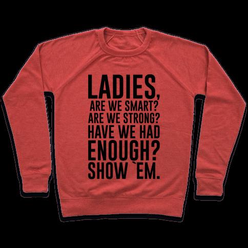 Ladies Show `Em Pullover