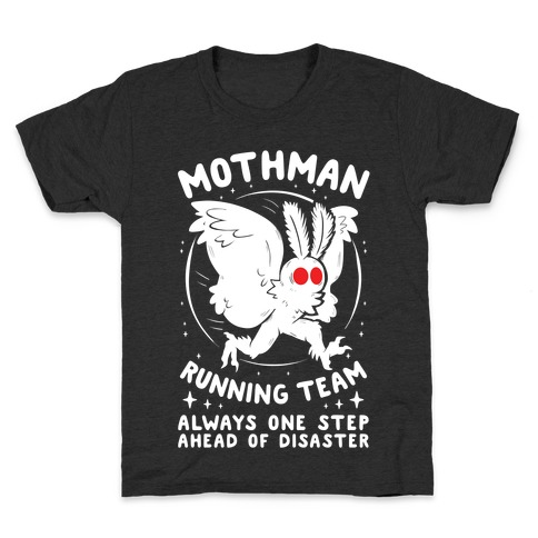 Mothman Running Team Kids T-Shirt
