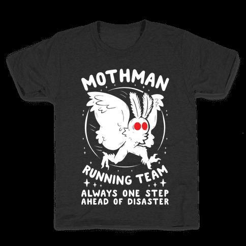 Mothman Running Team Kids T-Shirt