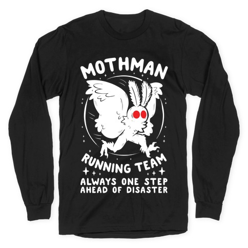 Mothman Running Team Long Sleeve T-Shirt