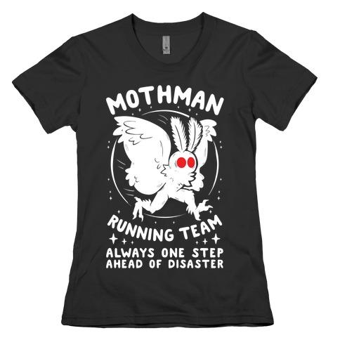 Mothman Running Team Womens T-Shirt