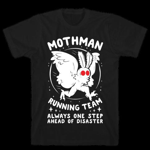 Mothman Running Team Mens/Unisex T-Shirt