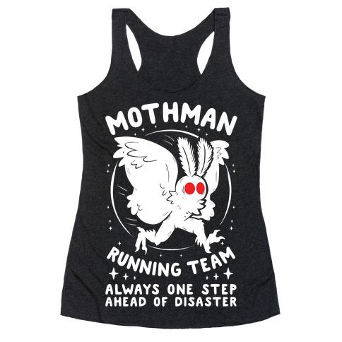 Mothman Running Team Racerback Tank Top