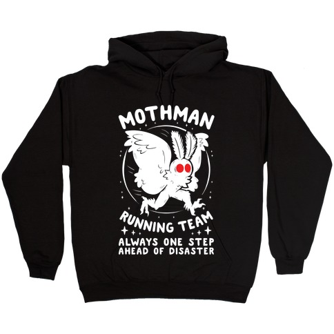 Mothman Running Team Hooded Sweatshirt
