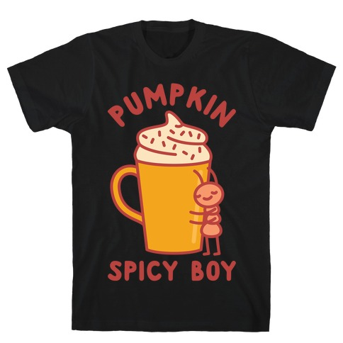 Pumpkin Spicy Boy wht T-Shirt