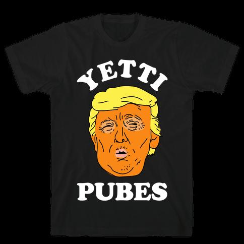 Yetti Pubes Mens T-Shirt