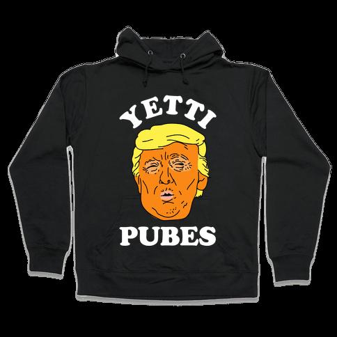 Yetti Pubes Hooded Sweatshirt