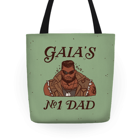 Gaia's Number 1 Dad Tote