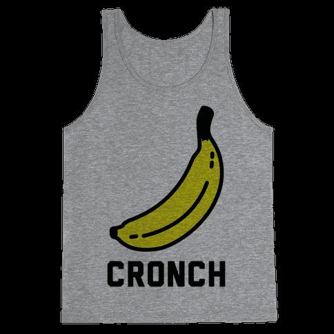 Cronch Banana Meme Tank Top
