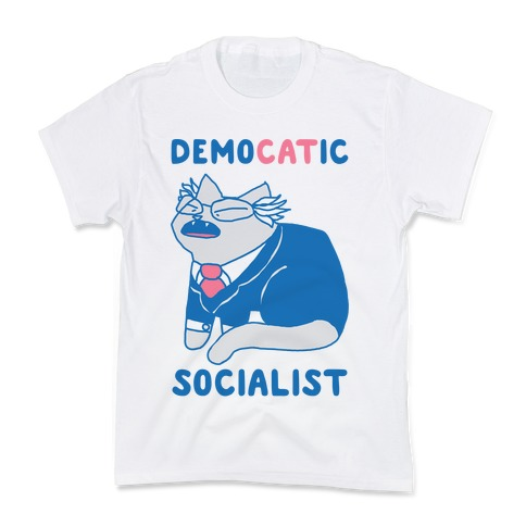 DemoCATic Socialist Kids T-Shirt
