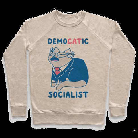 DemoCATic Socialist Pullover