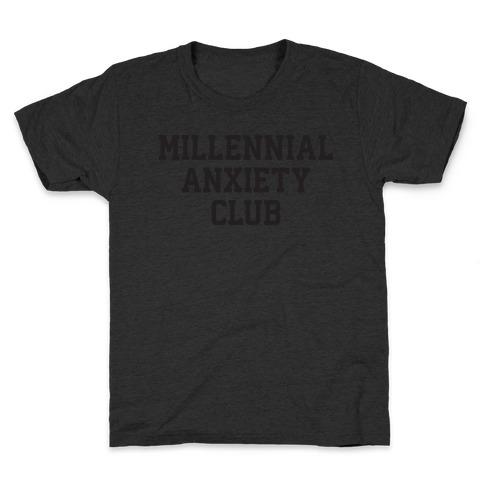 Millennial Anxiety Club Kids T-Shirt
