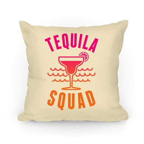 Tequila Squad Pillow