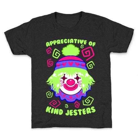 Appreciative of Kind Jesters Kids T-Shirt