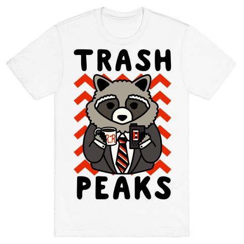 Trash Peaks Raccoon T-Shirt