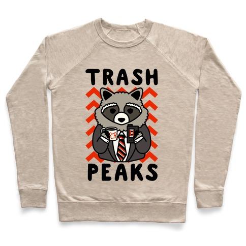 Trash Peaks Raccoon Pullover