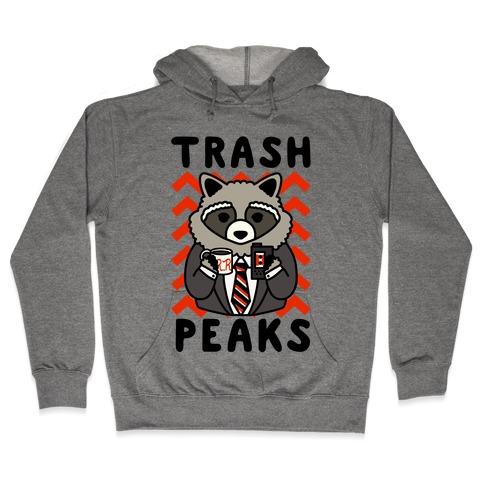 Trash Peaks Raccoon Hooded Sweatshirt