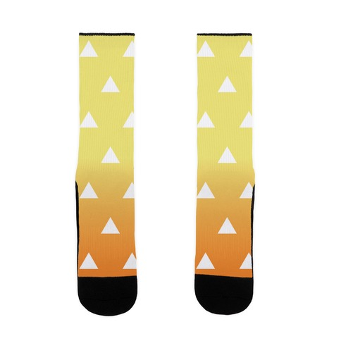 Zenitsu Pattern Sock