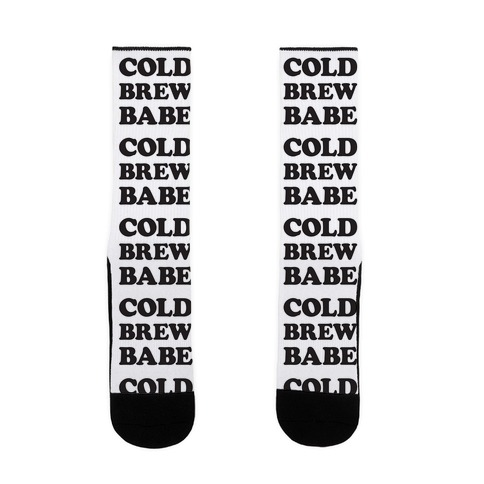Cold Brew Babe Sock