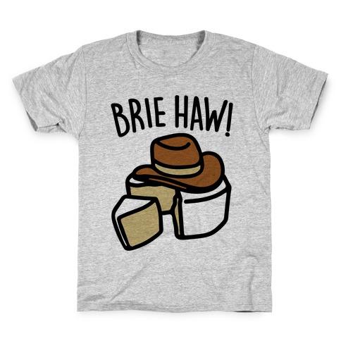 Brie Haw Parody Kids T-Shirt