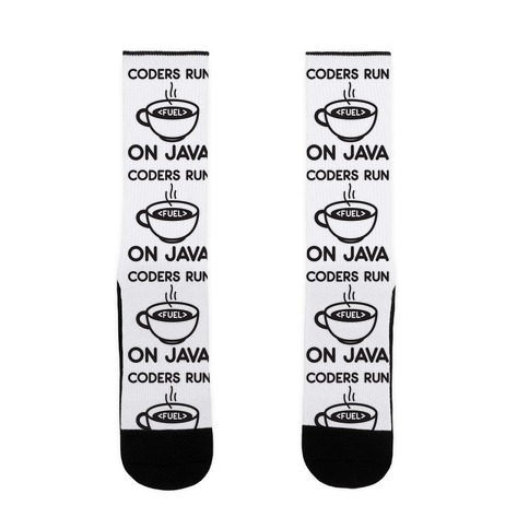 Coders Run On Java Sock