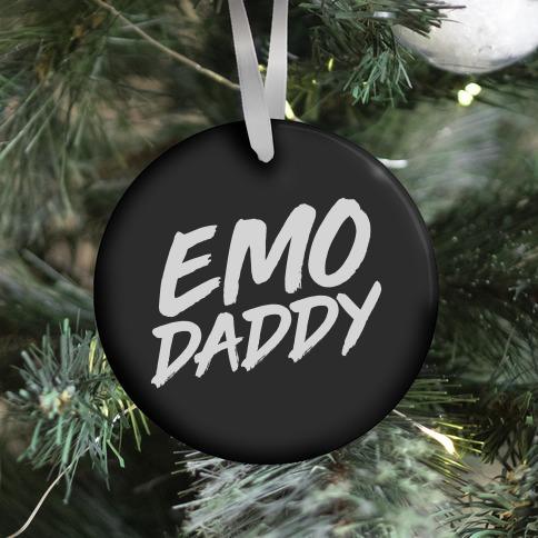 Emo Daddy Ornament