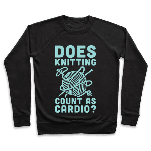 Does Knitting Count as Cardio? Pullover