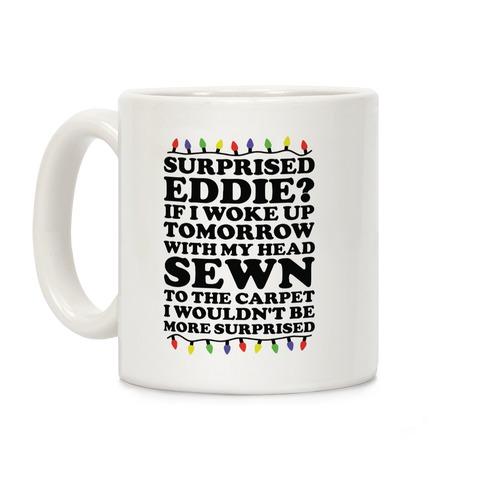 Surprised Eddie Coffee Mug