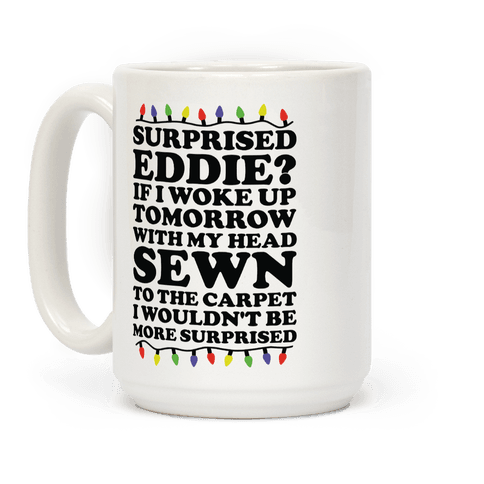 Surprised Eddie Coffee Mug