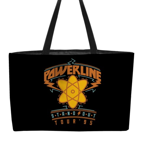 Powerline Tour Weekender Tote