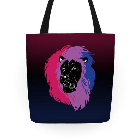 Bisexual Lion Pride Tote