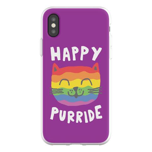 Happy Purride Phone Flexi-Case