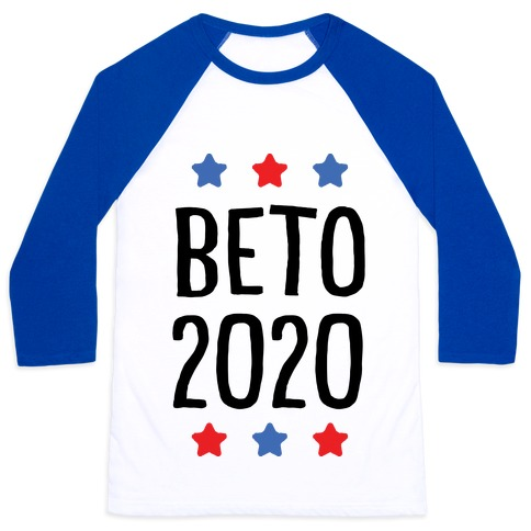 Beto 2020 Baseball Tee