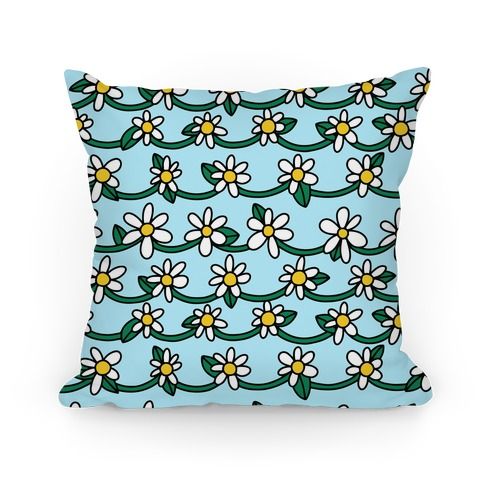 Daisy Chain Pattern Pillow