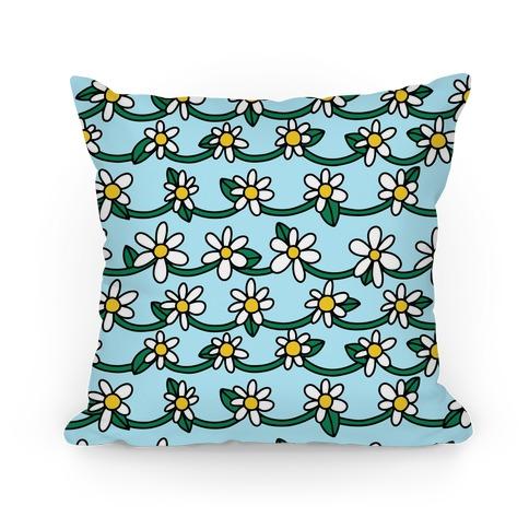 Daisy Chain Pattern Pillow