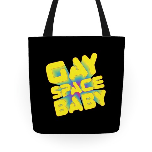 Gay Space Baby Tote