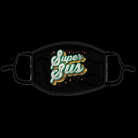 Super Sus Flat Face Mask