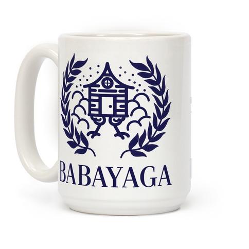Baba Yaga Balenciaga Parody Coffee Mug