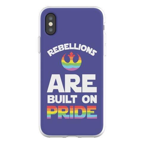 Rebellions Are Built On Pride Phone Flexi-Case
